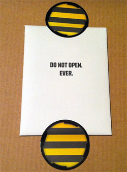 Do not open envelope